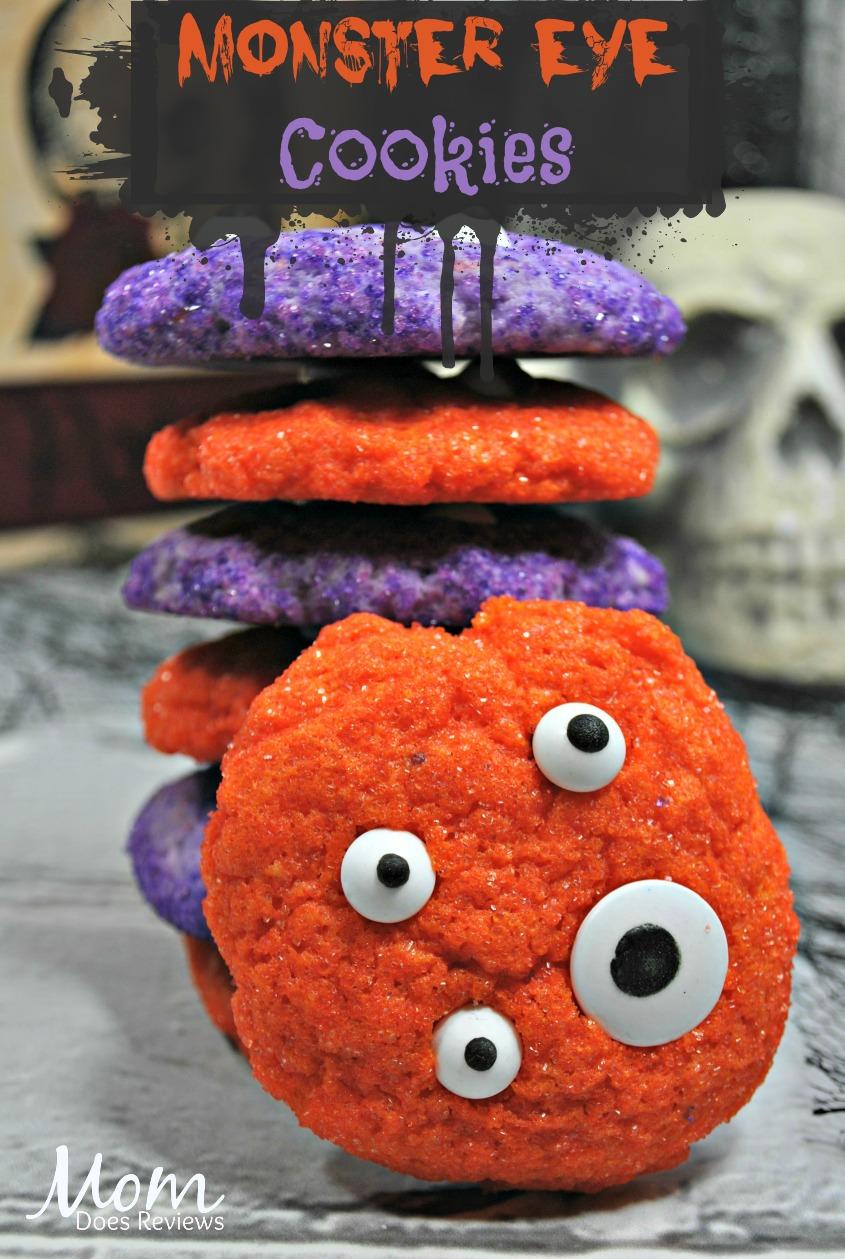 Monster Eye Cookies #halloween #funHalloween18 #cookies