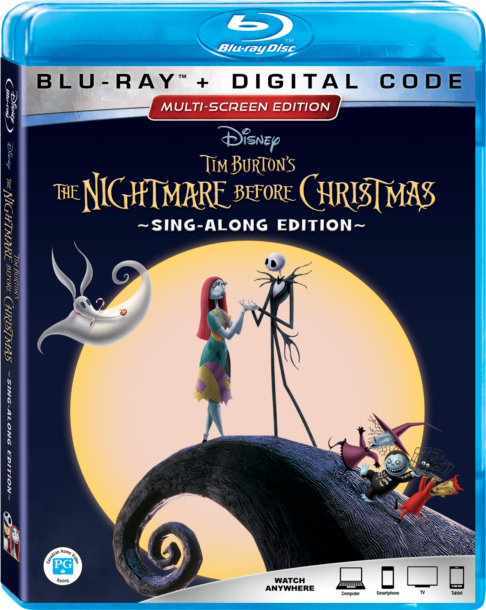 "he Nightmare Before Christmas"" 25th Anniversary Edition Arrives on Digital & Blu-ray September 2"