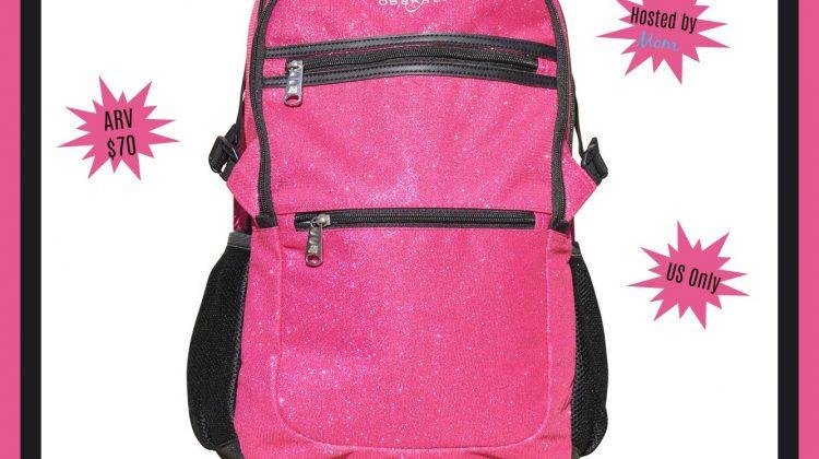 #Win a Paris Sparkle Backpack ends 9/20 #Back2School18
