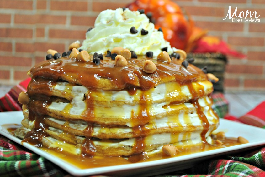 Pumpkin Cheesecake Pancakes- Perfect for Sunday Brunch