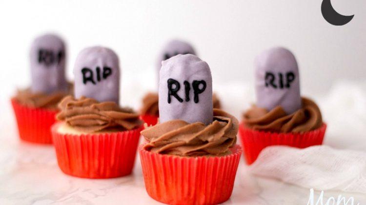 Make Your Own RIP Cupcakes #FunHalloween18