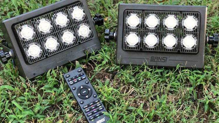 Sansi LED Flood Lights are Perfect for Security, Decor, and Fun