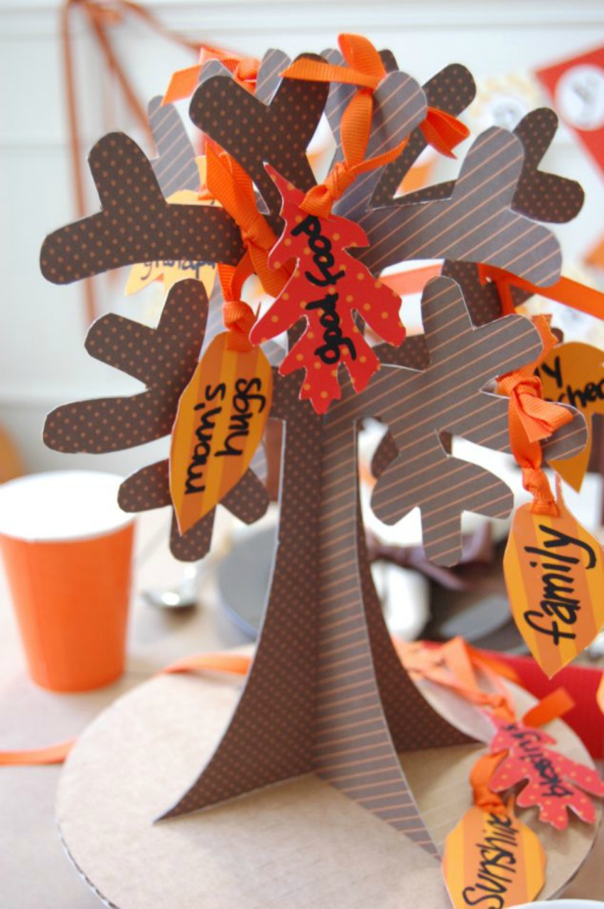 Thanksgiving Tree of Thanks