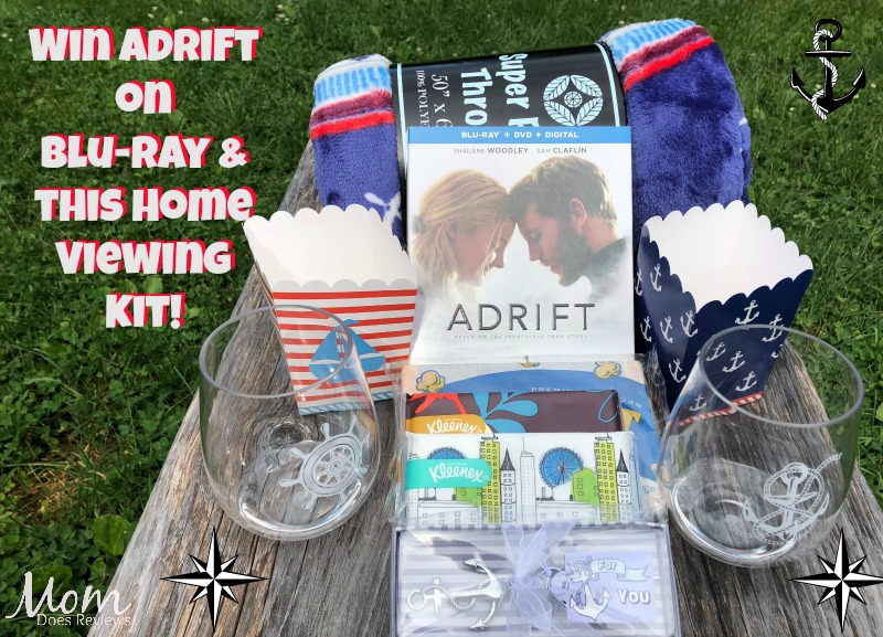 Win Adrift on Blu-Ray & this Home Viewing Kit!
