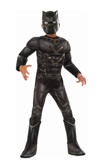 Black panther costume