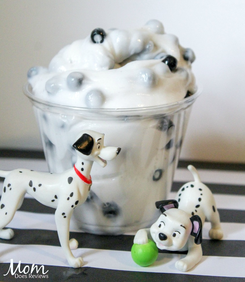 How to Make 101 Dalmation Inspired Slime