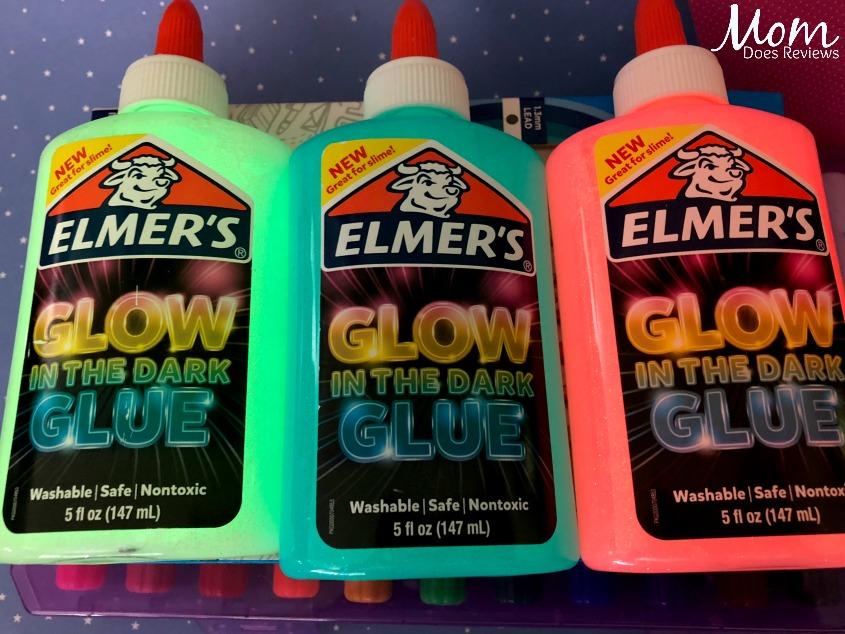 Elmers glue glow in the dark
