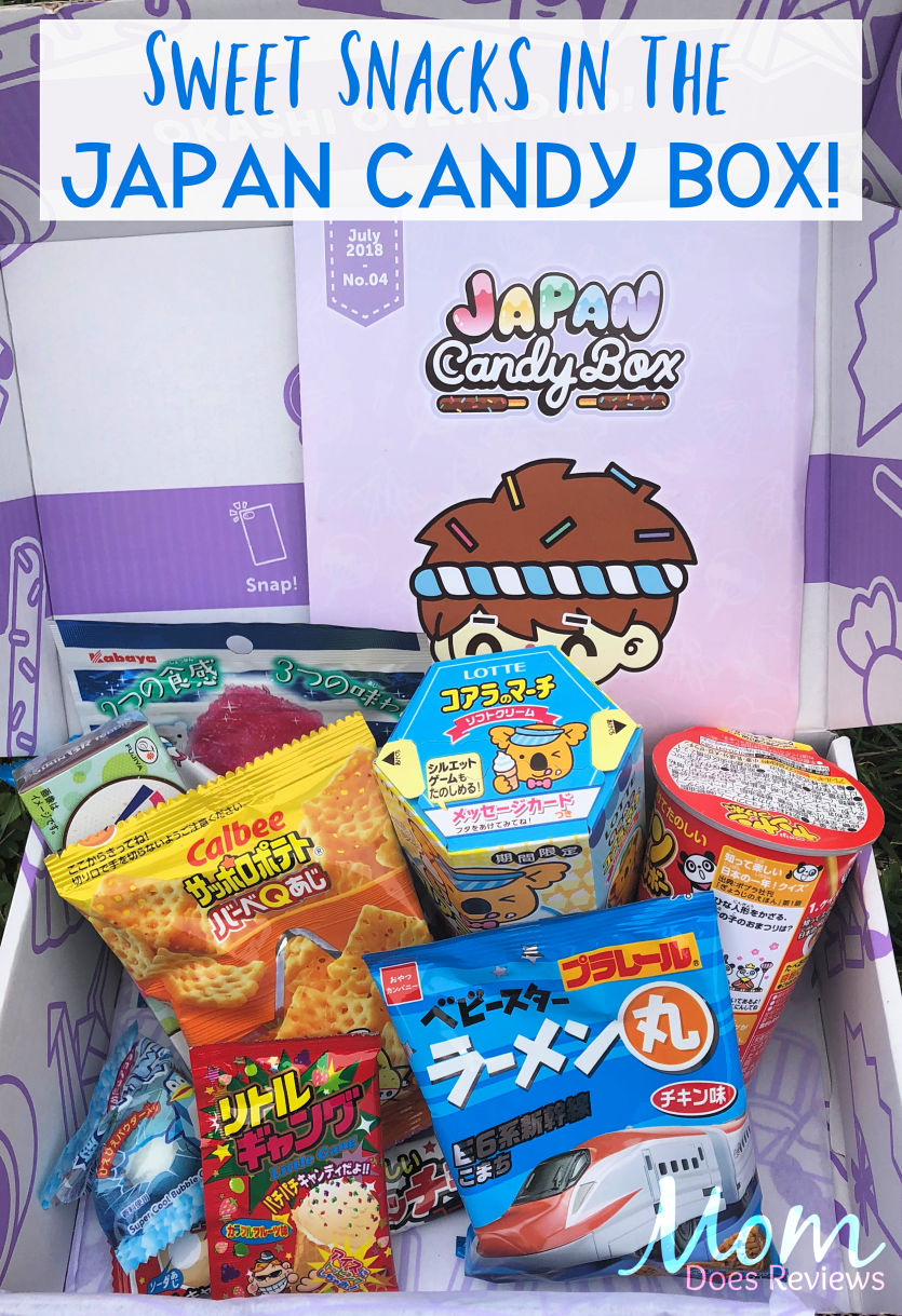 Japan Candy Box #review #giveaway #japancandybox