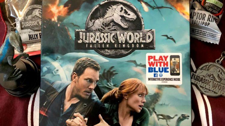 Have an Adventurous Movie Night with Jurassic World: Fallen Kingdom! #TeamJurassic