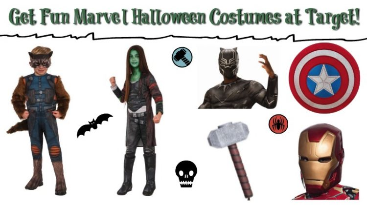 Get Marvel Halloween Costumes at Target! #FunHalloween18