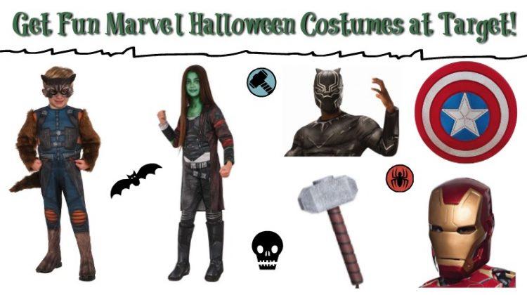 Get Marvel Halloween Costumes at Target! #FunHalloween18