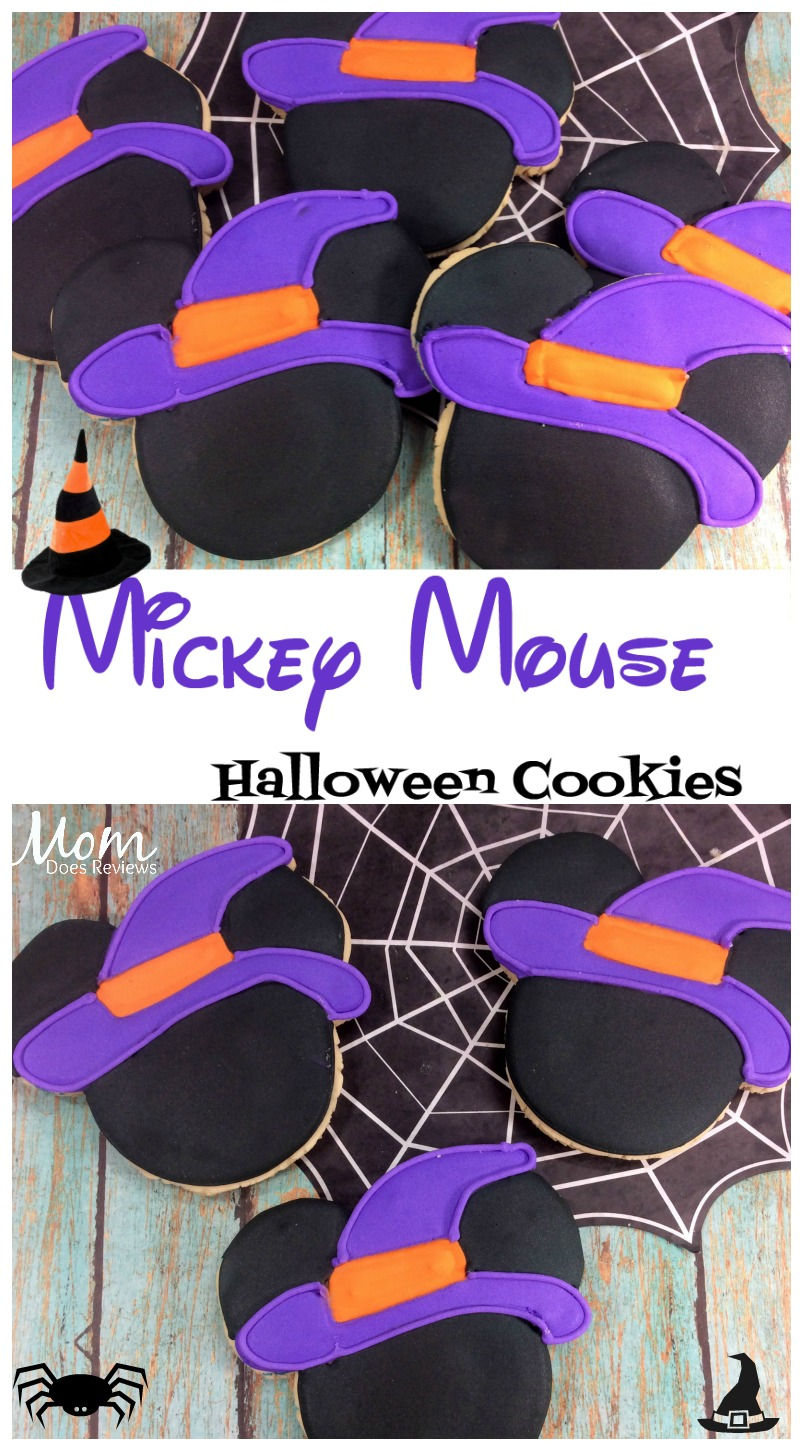 Mickey Mouse Witch sugar cookies #halloween #cookies #disney