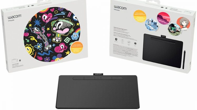 Cultivate Your Creativity with the Wacom Intuos Bluetooth Creative Pen Tablet