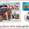 Merry Christmas, Love Bruce! #Win Santa Bruce Book, an ornament and $50 Visa GC! #SantaBruceBook