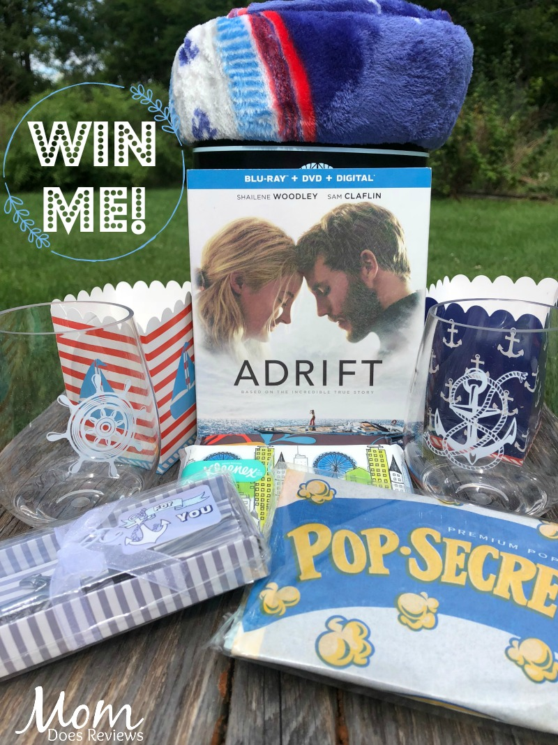 #Win the Adrift Movie and Viewing Kit! US ends 9/12 #AdriftMovie