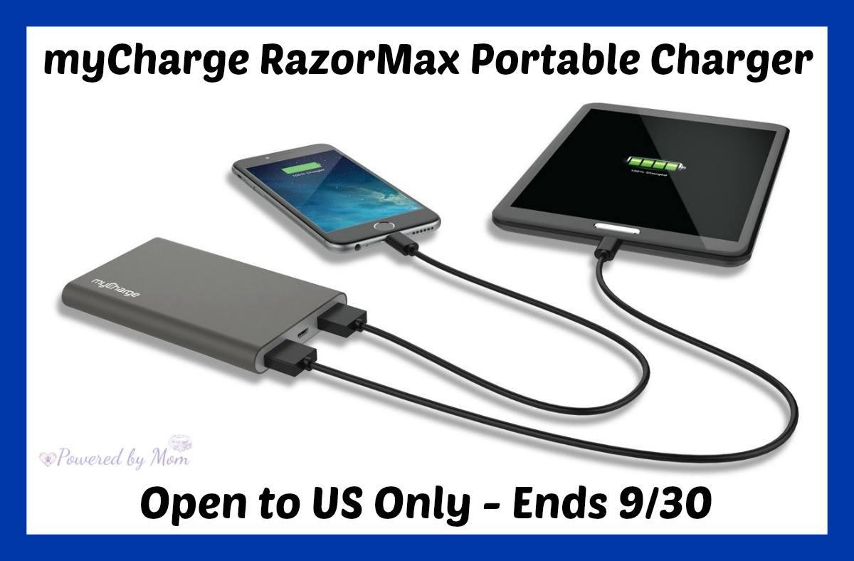 Win myCharge Razor Max