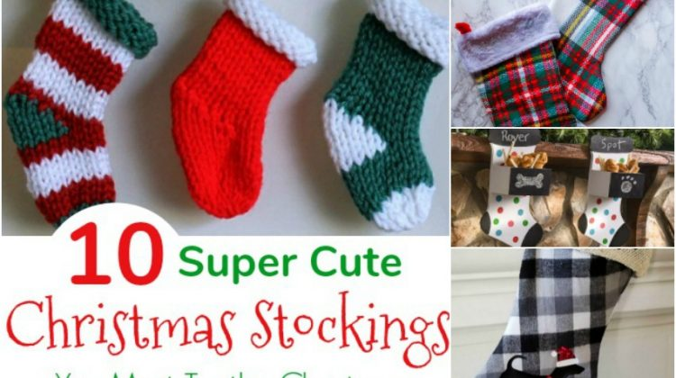 10 Super Cute DIY Christmas Stockings You Must Try this Christmas