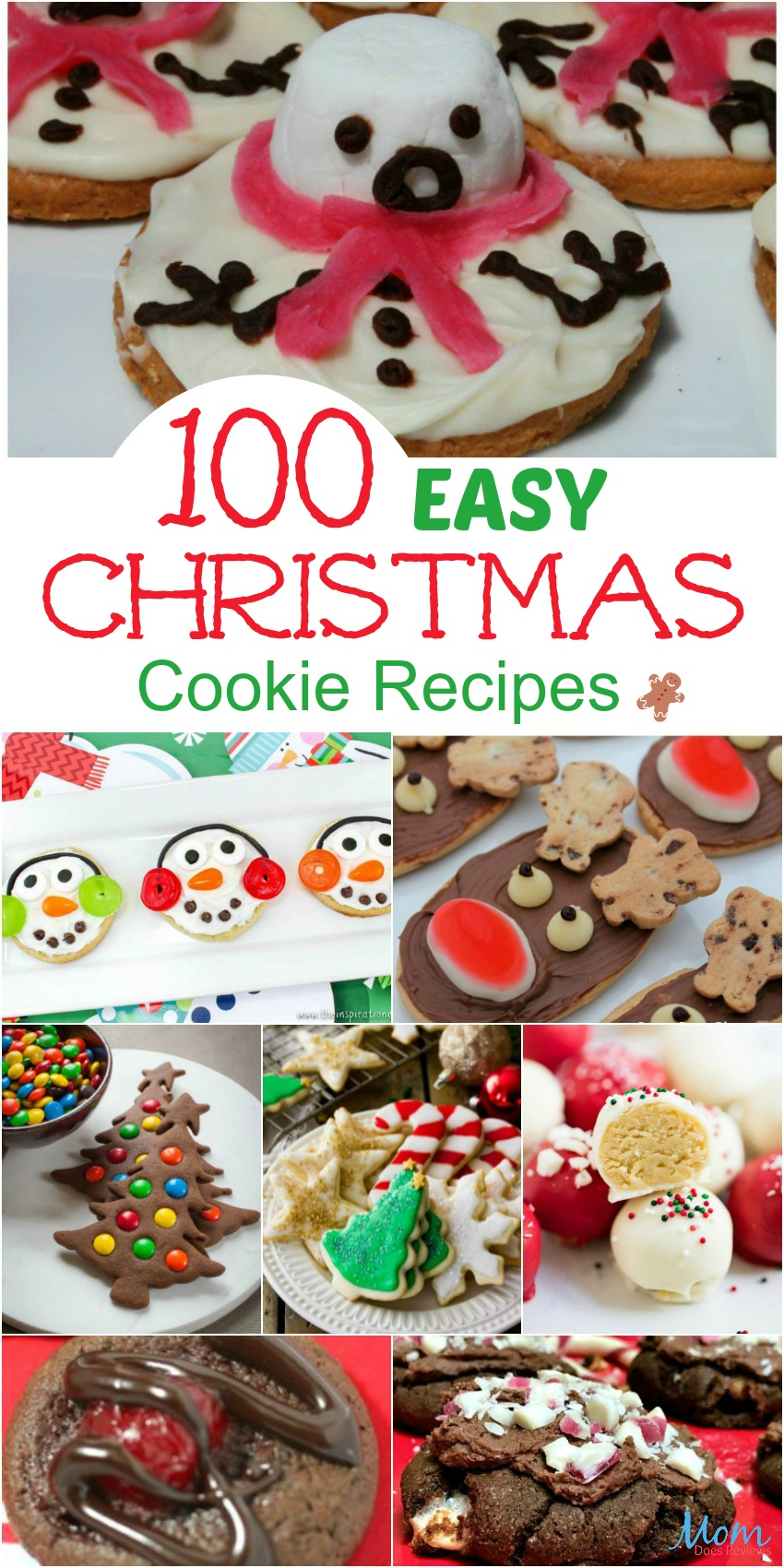 100 Easy Christmas Cookie Recipes You Must Try This Christmas