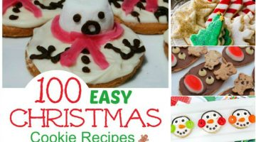 100 Easy Christmas Cookie Recipes You Must Try this Christmas!