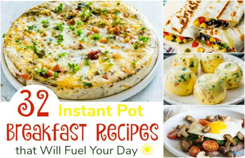 32 Instant Pot Breakfast Recipes that Will Fuel Your Day
