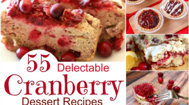 55 Delectable Cranberry Dessert Recipes Perfect for the Holidays
