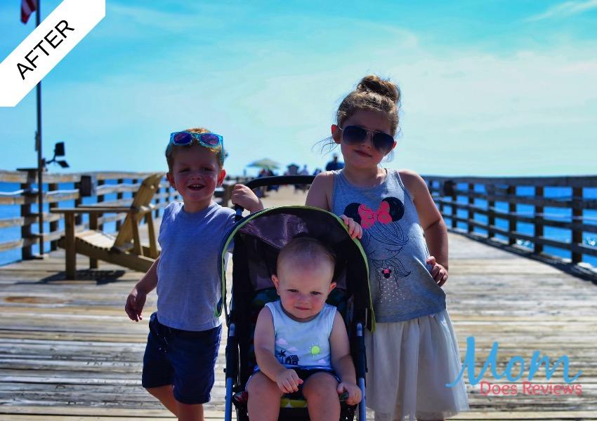 Kids on a Pier - After Shot