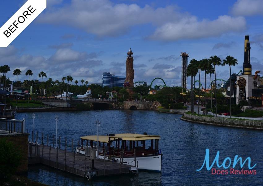 Universal Orlando Before Shot