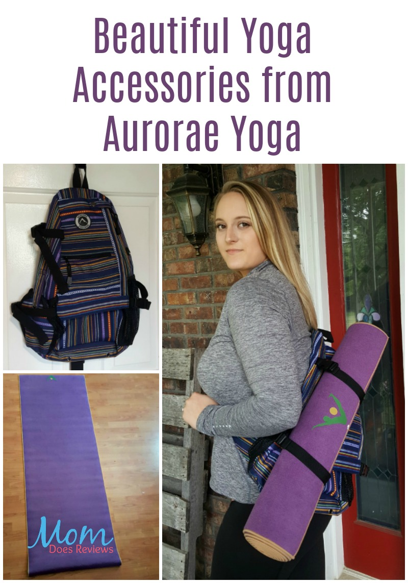 Beautiful Yoga Accessories from Aurorae Yoga
