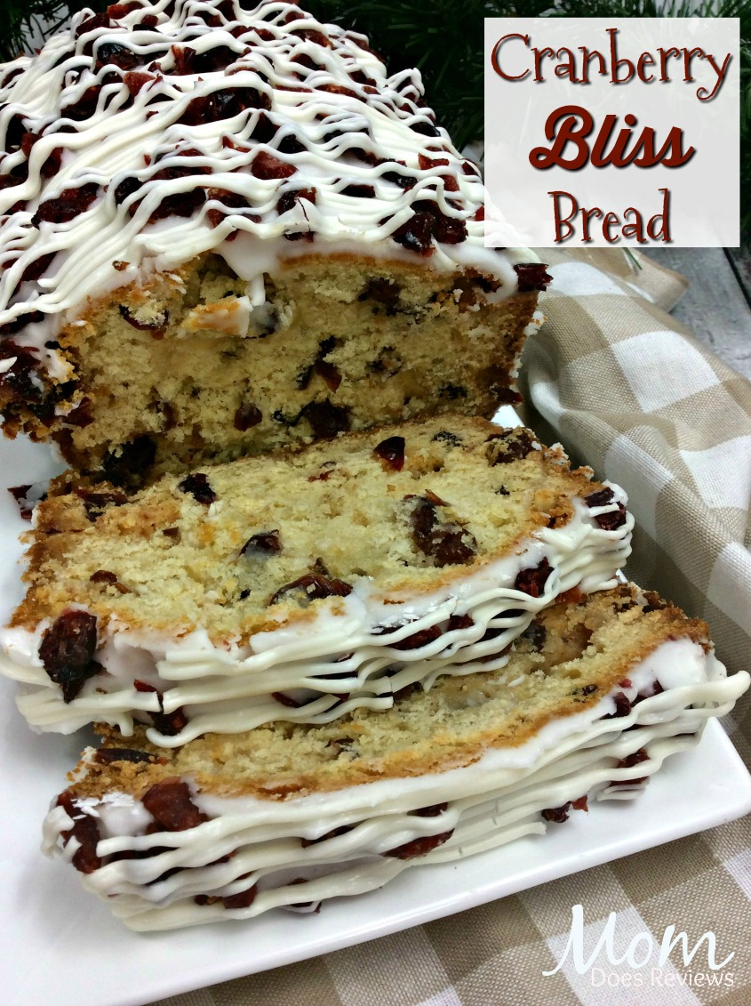 Cranberry Bliss Bread #recipe #food #Foodie