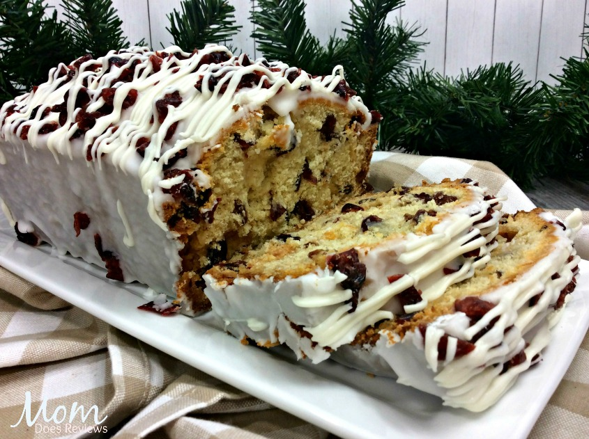 Cranberry bliss bread