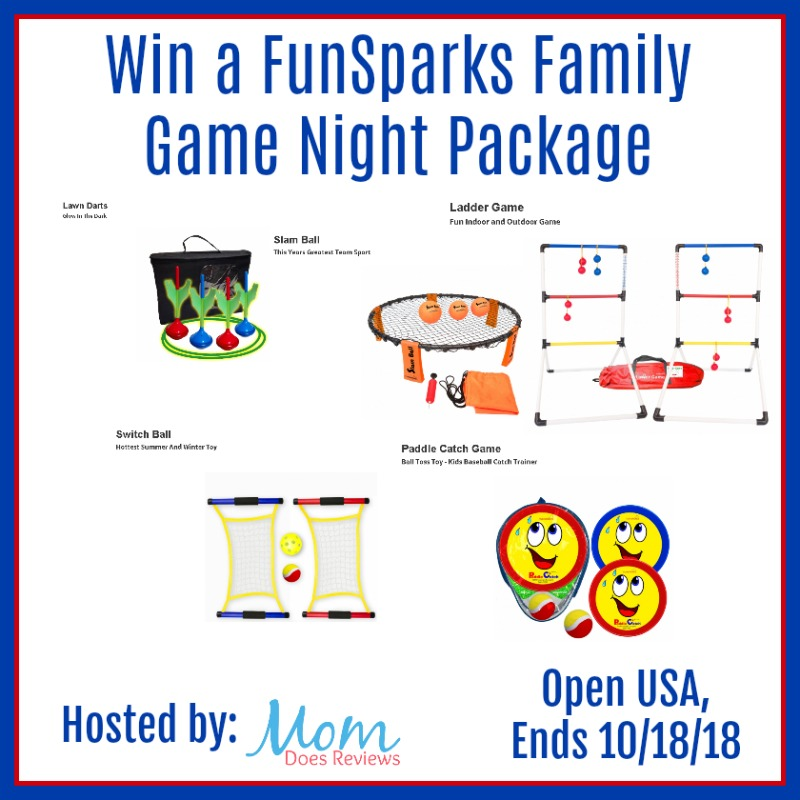 Win a FunSparks Family Game Night Package