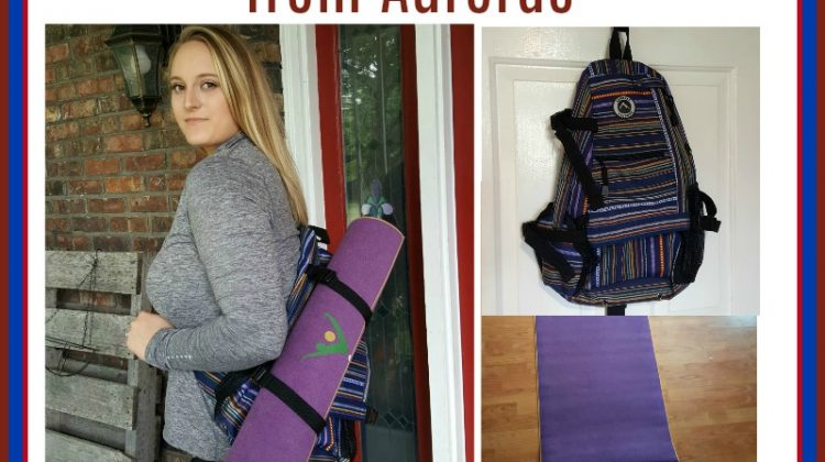 #Win a Yoga Bag and Mat from Aurorae Yoga, Open USA, Ends 10/19 #MEGAChristmas18