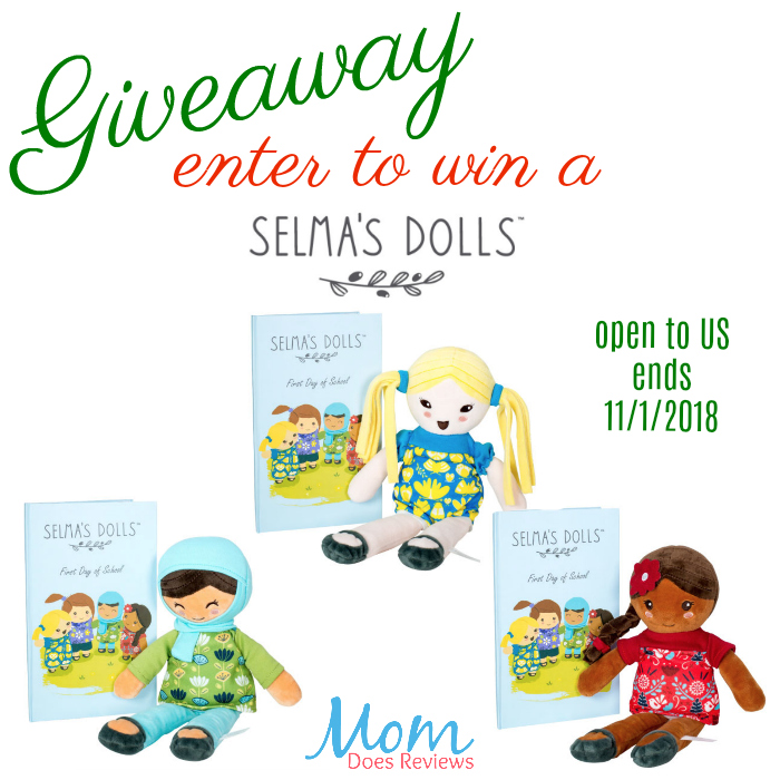Giveaway Enter To Win a Selma's Dolls