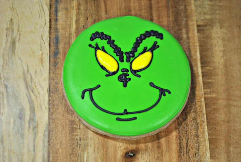 Grinch Sugar Cookie