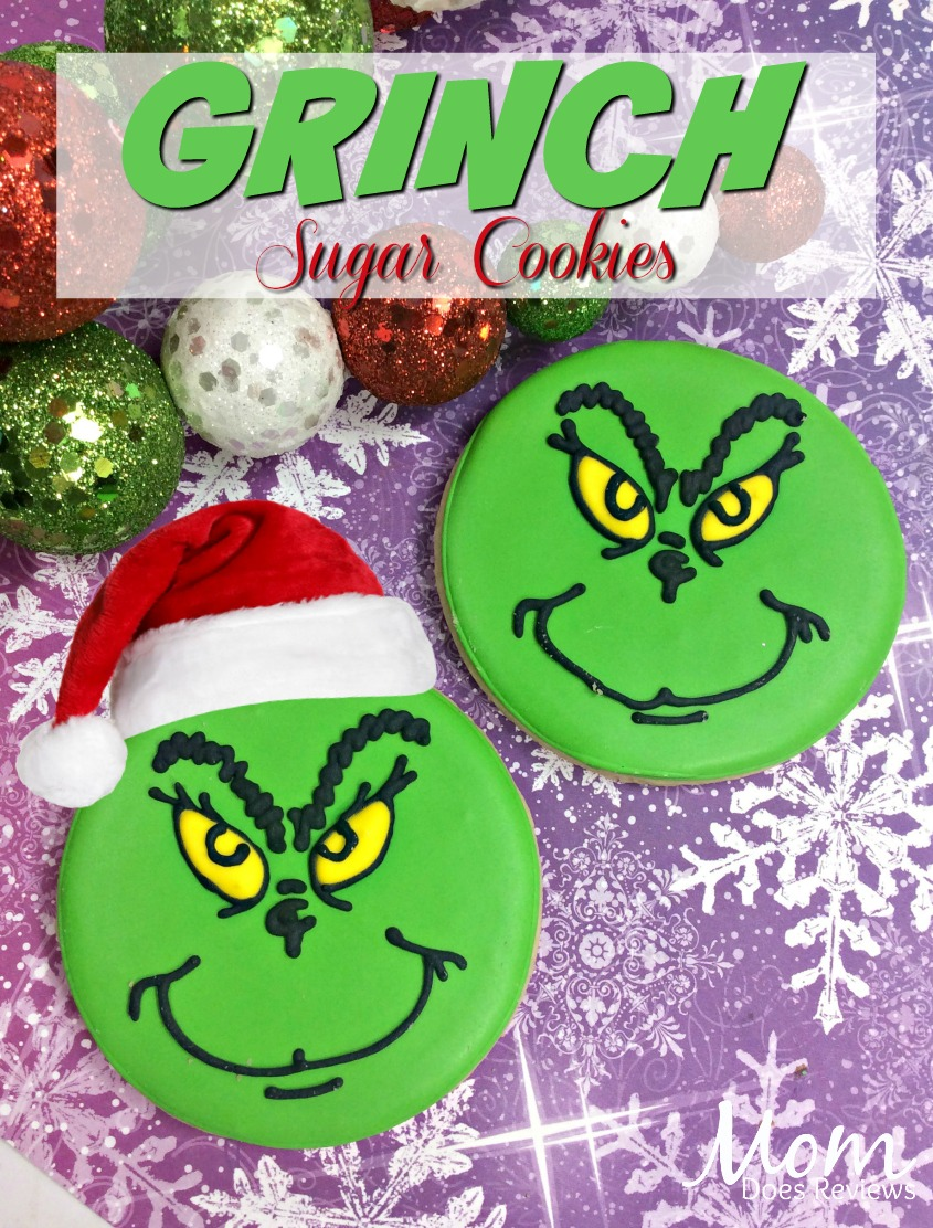 Grinch Sugar Cookies #TheGrinch