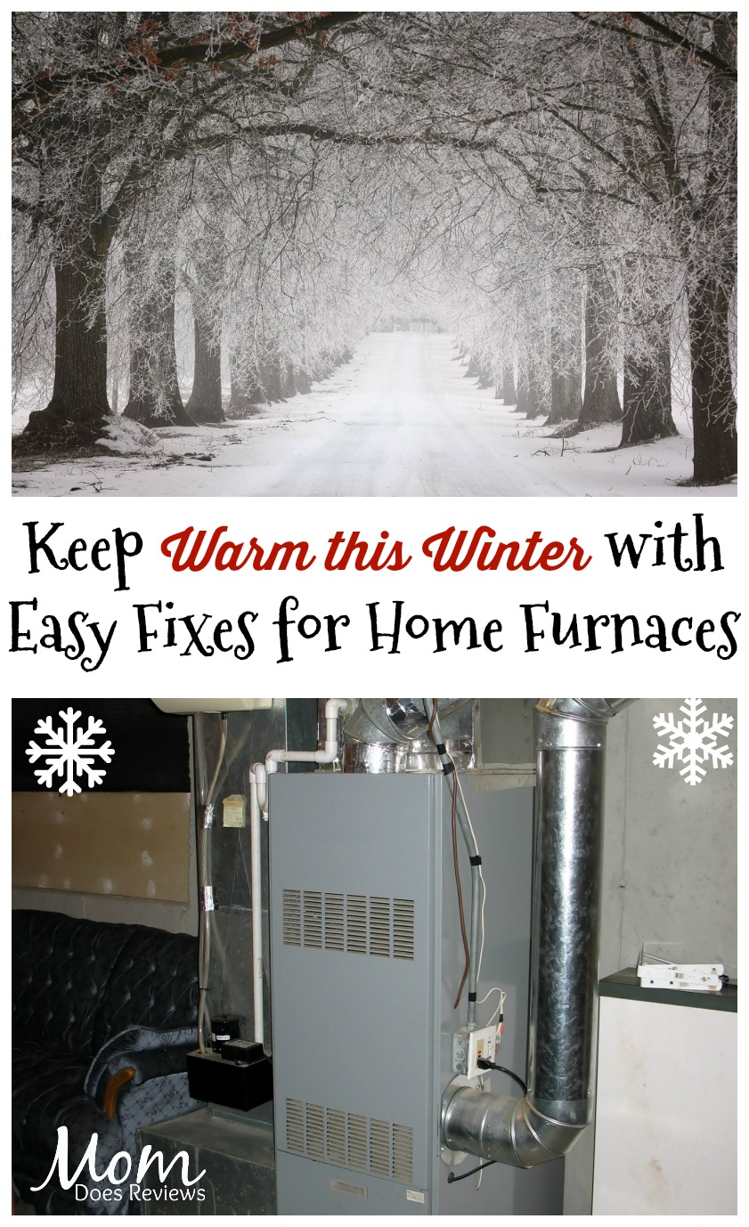 Keep Warm this Winter with Quick and Easy Fixes for Home Furnaces #ad #HouseExperts #SearsHVAC