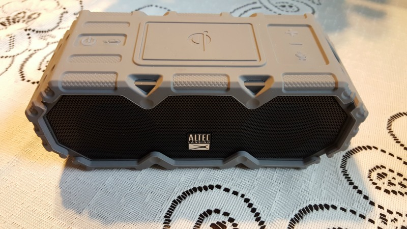 Enjoy Your Music Outside with Altec Lansing LifeJacket Jolt Speaker