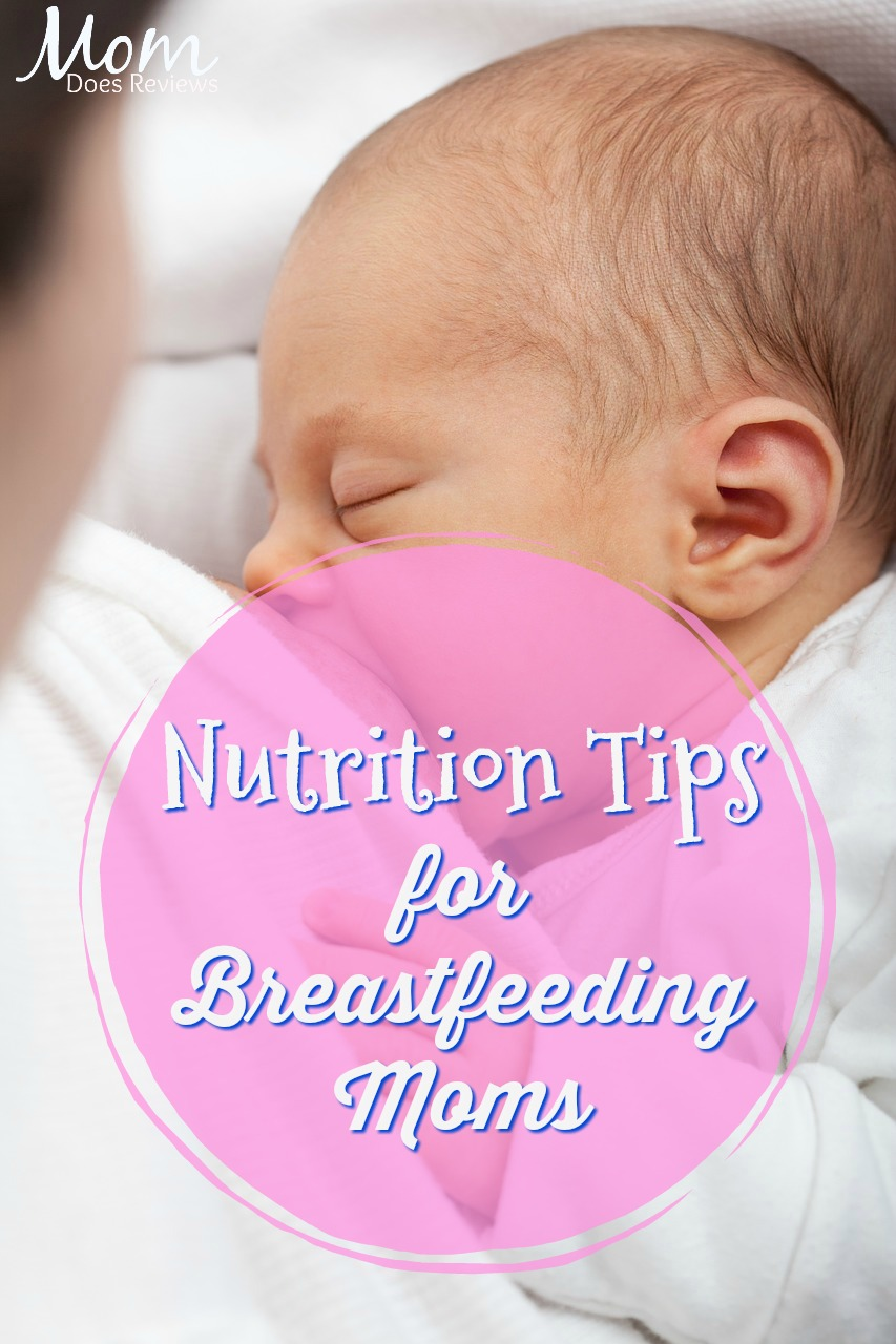 Nutrition Tips for Breastfeeding Moms #parenting #health #babies