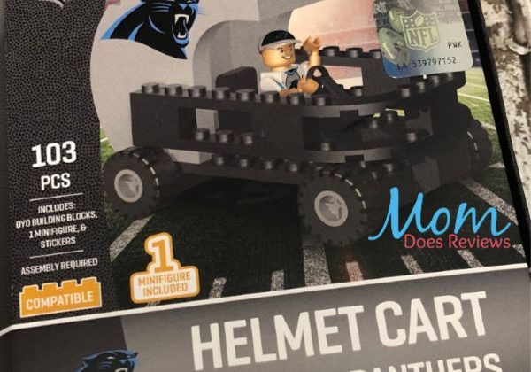 OYO Sports Panthers helmet car