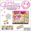 #EntertoWin the Girly Giveaway at Mom Does Revews! SmitCo LLC 111 Piece Nail Art Kit for Girls! #NonToxic #SafeforKids #GiftsforGirls #Girlygifts