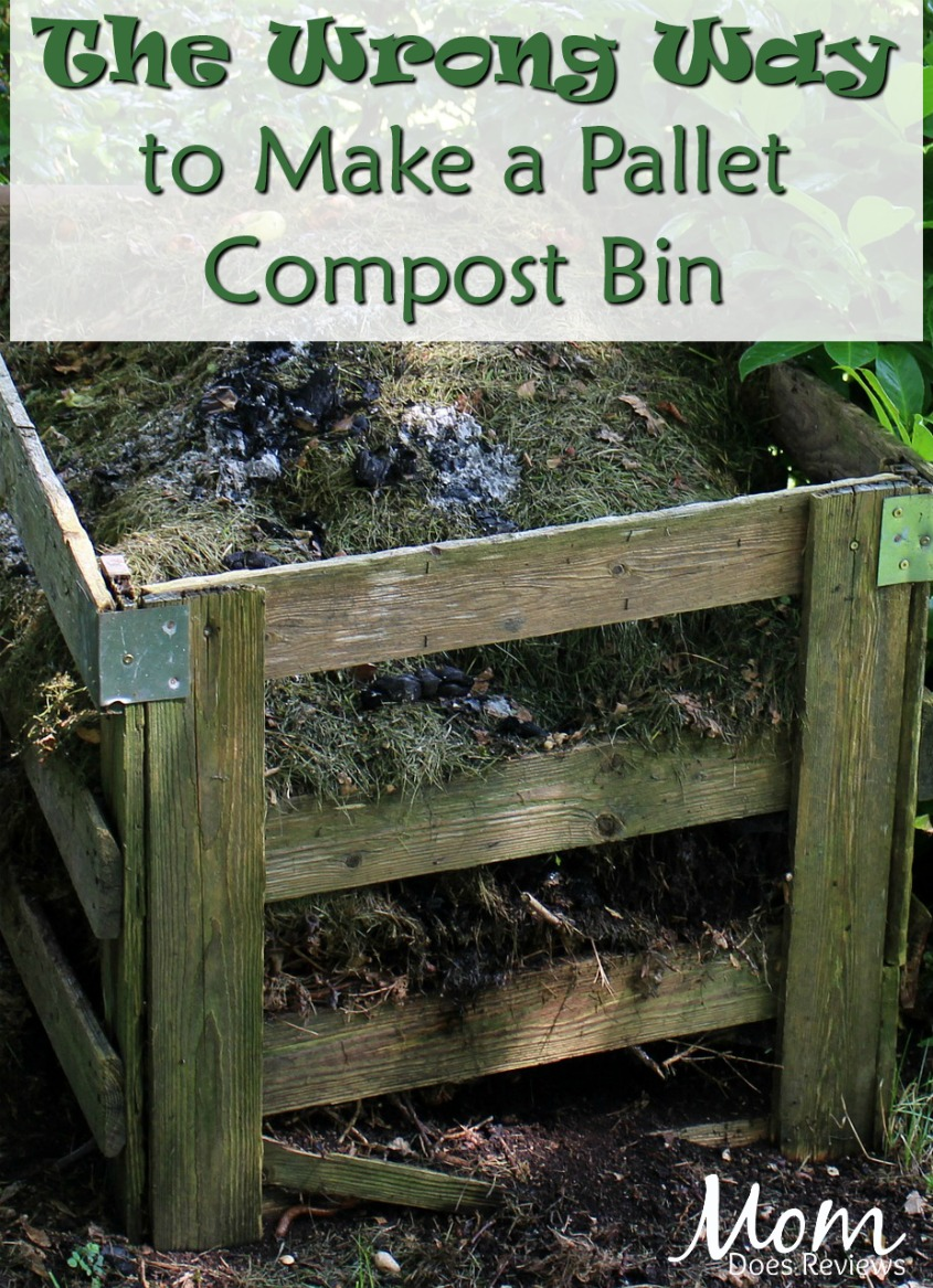 The Wrong Way to Make a Pallet Compost Bin