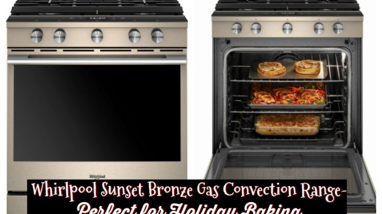 Whirlpool Sunset Bronze Gas Convection Range- Perfect for Holiday Baking #Bestbuy #ad