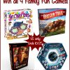 #Win 4 Family Fun Games! US ends 10/25 #MEGAChristmas18