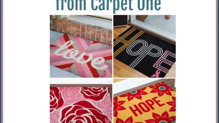 #Win a Welcome A Cure Mat from Carpet One, Open to USA, ends 10/22 #welcomeacure #carpetone #beatbreastcancer