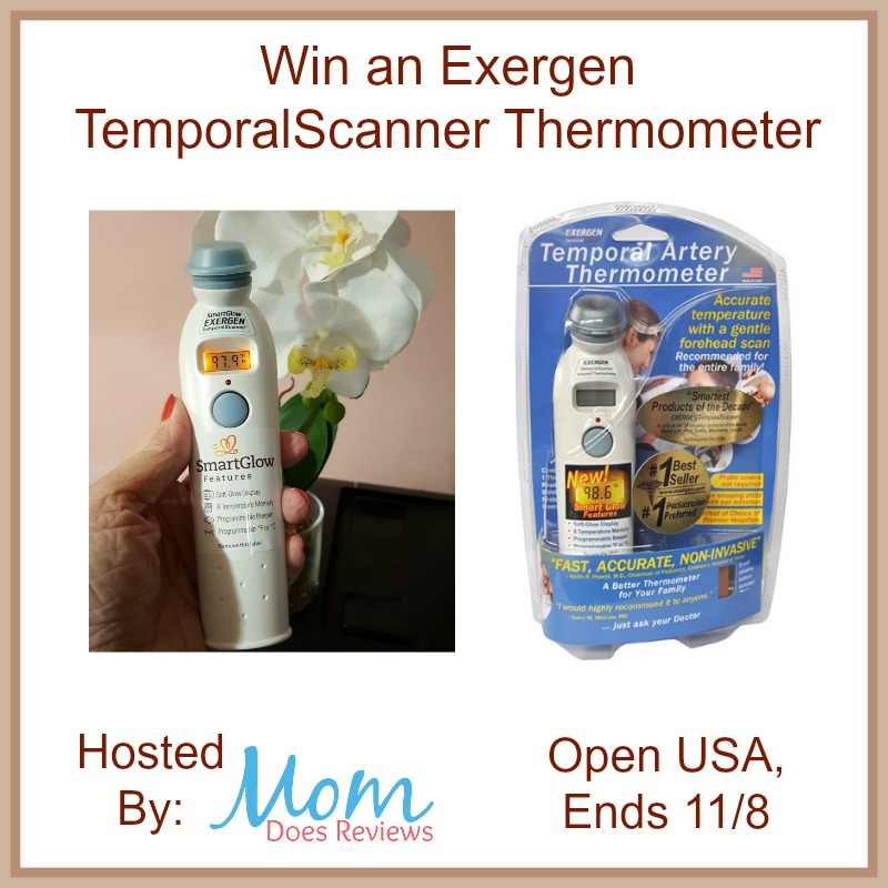Win an Exergen TemporalScanner Thermometer
