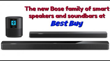 Get Amazing Sound with Bose® Smart Home Speakers with Bass Module and Surround Sound Speakers at #BestBuy
