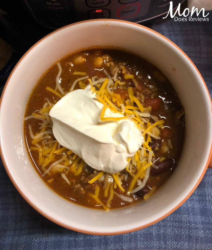 Make Chili in the Mealth MultiPot #mealthyMoms