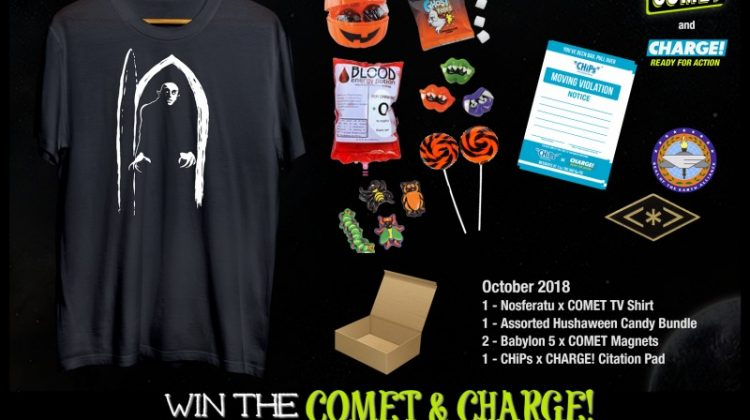 #Win the COMET & CHARGE! October Giveaway! Hushaween! Midnight Movies! Babylon 5!