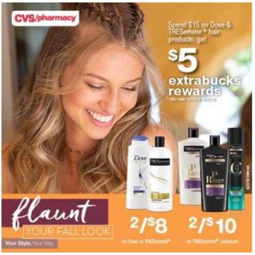 CVS Dove Flaunt Fall Hair #FlauntFallHair