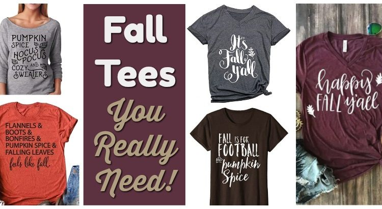 Fall T-shirts You Really Need!